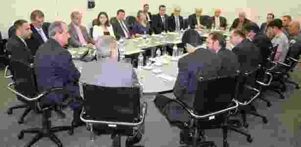 Reunião ocorreu nesta quarta-feira - Divulgação/SSP