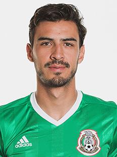 Oswaldo Alanís, volante do México