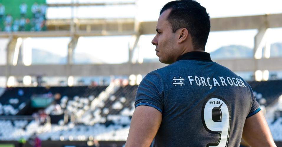 Jair Ventura acompanha ao jogo entre Botafogo e Vitória