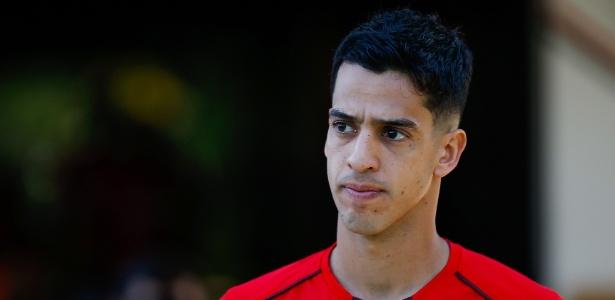 O meia Thomaz não deve permanecer no São Paulo no restante da temporada