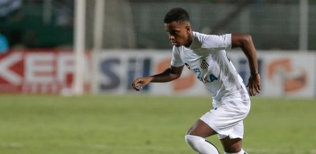 Sensação santista da temporada 2018, Rodrygo foi inscrito com a camisa 9; nomes como Cleber, Leandro Donizete e Rafael Longuine foram preteridos pelo técnico Jair Ventura