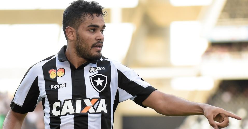 Brenner comemora gol do Botafogo contra o Vasco pelo Campeonato Carioca