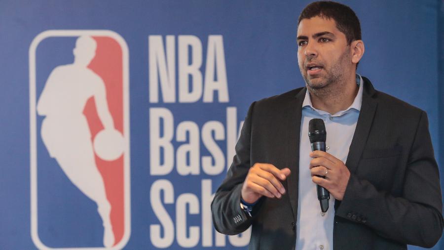 Daniel Soares, diretor de operações de basquete da NBA na América Latina, no lançamento da NBA Basketball School no Brasil - Wander Roberto/Inovafoto