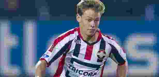 Negociado pelo Ajax, Frenkie de Jong defendeu o Willem II até 2015 - @WillemII/Twitter