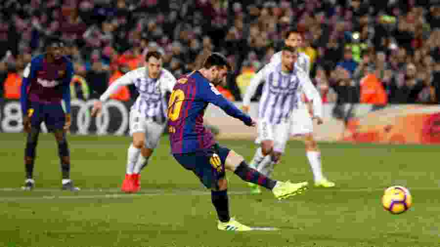Messi completa 11 temporadas seguidas com pelo menos 30 gols pelo Barcelona fa8852226e1f4