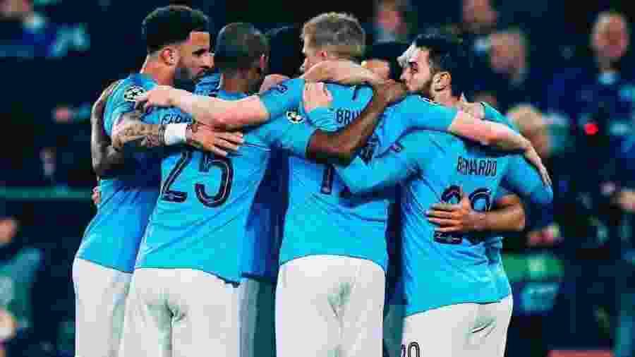 Mesmo sem jogar, Gabriel Jesus comemora vitória do City na Liga dos Campeões - Reprodução/Instagram