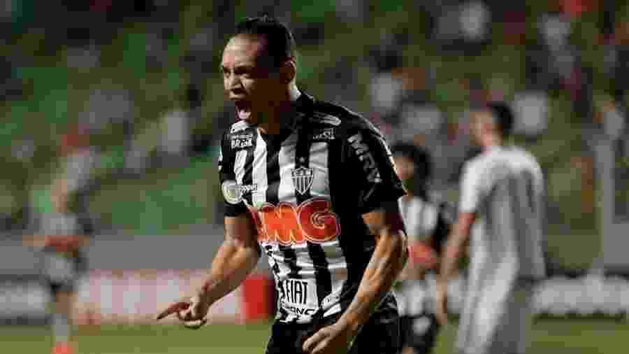 Ricardo Oliveira, hoje no Atlético-MG - Divulgação/Atlético-Mg