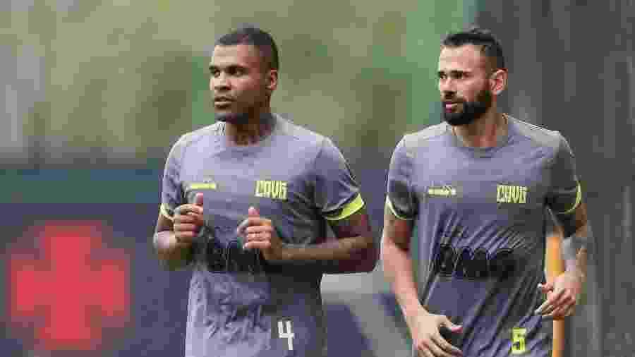 Zagueiro Breno já está liberado pelo departamento médico do Vasco e se aproxima de seu retorno aos gramados - Rafael Ribeiro / Vasco