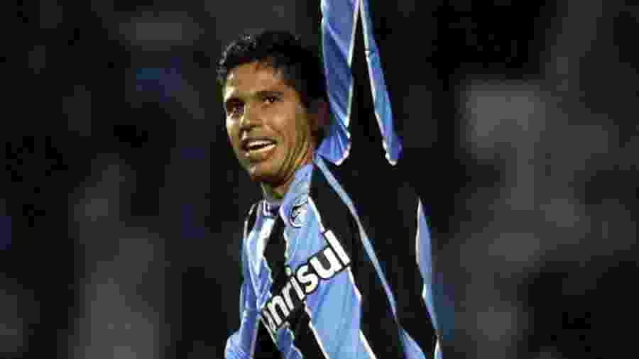 Willian Magrão, em 2011, quando ainda jogava pelo Grêmio - Neco Varella/Freelancer