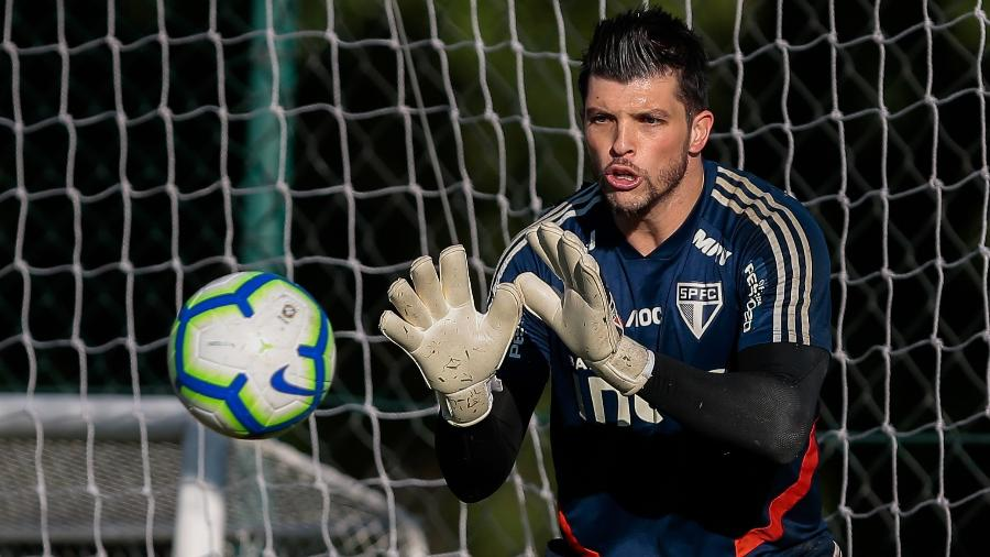 Tiago Volpi, goleiro do São Paulo - Marcello Zambrana/AGIF