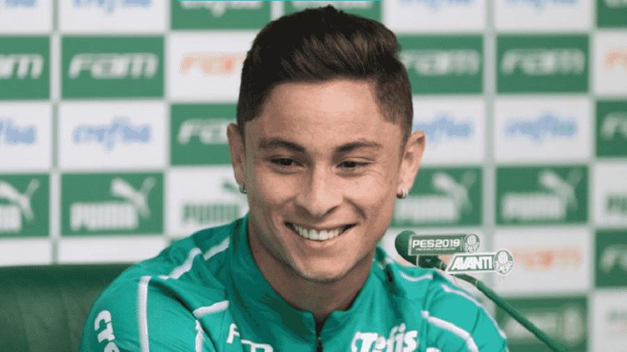 Diogo Barbosa ficará de fora de um jogo pela primeira vez desde a chegada de Mano - Reprodução/TwitterPalmeiras