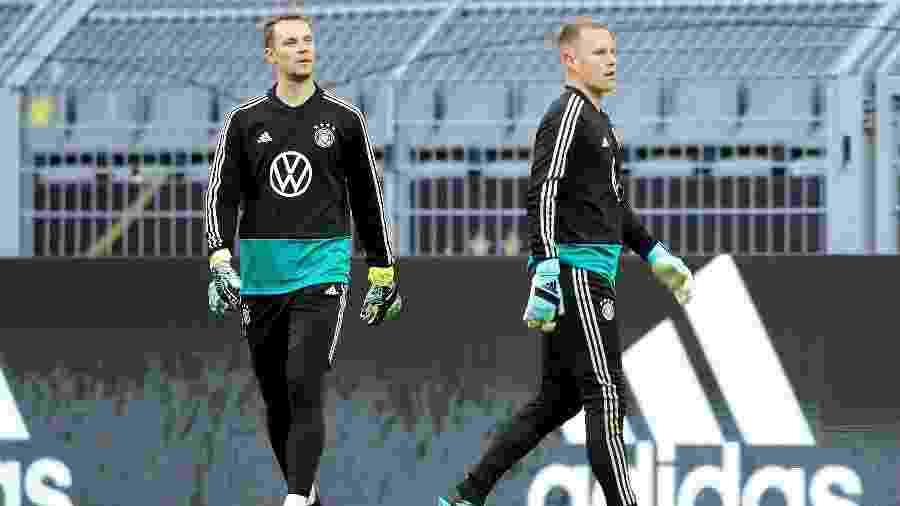 Neuer trata de renovação e pode não ficar no Bayern, abrindo caminho para Ter Stegen - Christof Koepsel/Bongarts/Getty Images