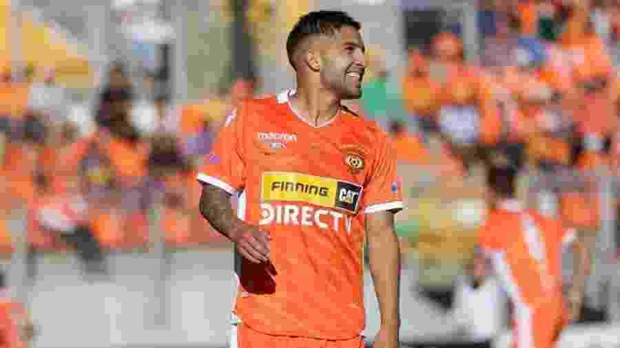 Ignacio Jara, durante partida do Cobreloa - Divulgação/Cobreloa