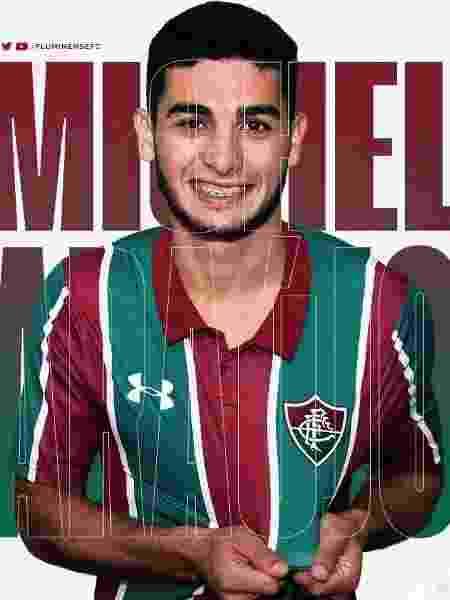 Fluminense anuncia contratação de Michel Araújo neste Mercado da Bola - Reprodução