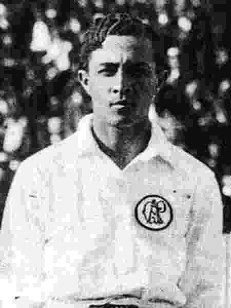 Arthur Friedenreich, lendário jogador do Paulistano, campeão paulista de 1918 - Reprodução