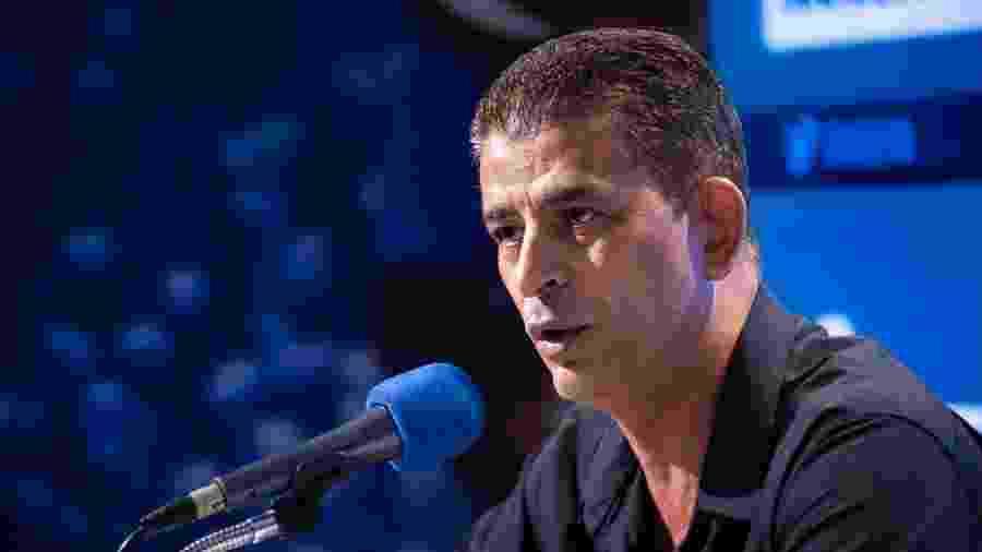 Carlos Ferreira, interlocutor do conselho gestor do Cruzeiro, tenta postergar dívidas emergenciais do clube - Bruno Haddad/Cruzeiro