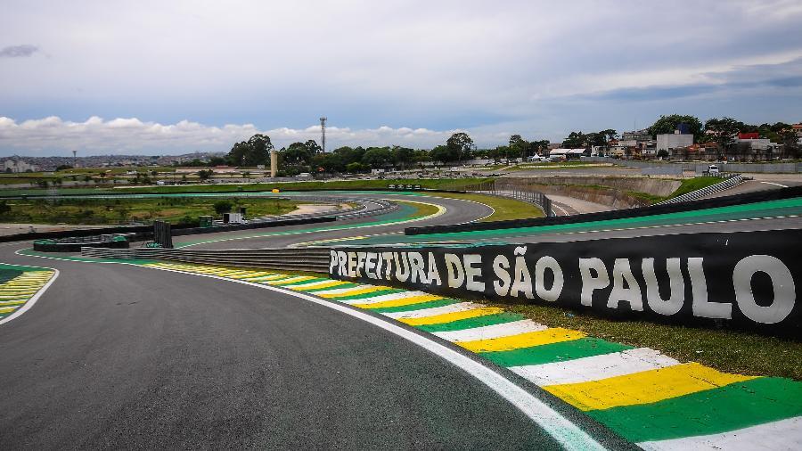 Detalhe do Autódromo de Interlagos na cidade de São Paulo - Duda Bairros/AGIF