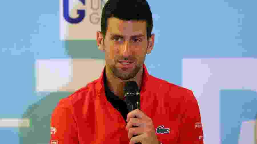 Novak Djokovic organizou o Adria Tour e levantou polêmica sobre contágio de novo coronavírus - Reuters