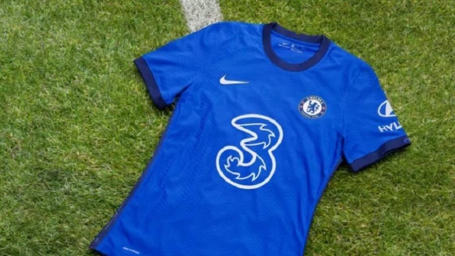 Este é o uniforme principal do Chelsea para a temporada 20/21 - Divulgação/ChelseaFC