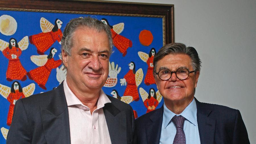 Sérgio Coelho e José Murilo Procópio oficializam candidatura à presidência do Galo - Geraldo Goulart Neto/Divulgação