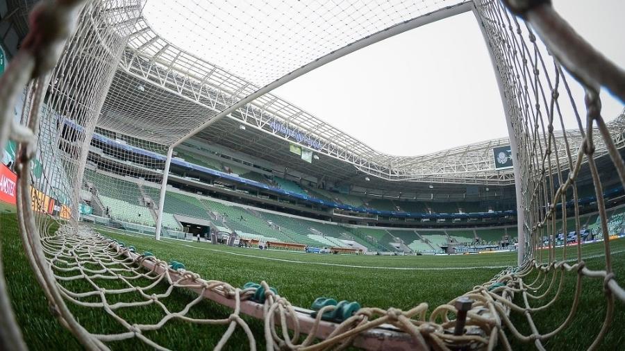 Clube gaúcho fez primeiro jogo no novo gramado em duelo do Brasileirão e se preocupou - Staff Images/Conmebol