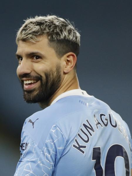 Kun Aguero, atacante do Manchester City - REUTERS/Clive Brunskill