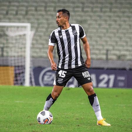 Lima durante partida entre Ceará e Arsenal de Sarandí - Felipe Santos / Ceará SC