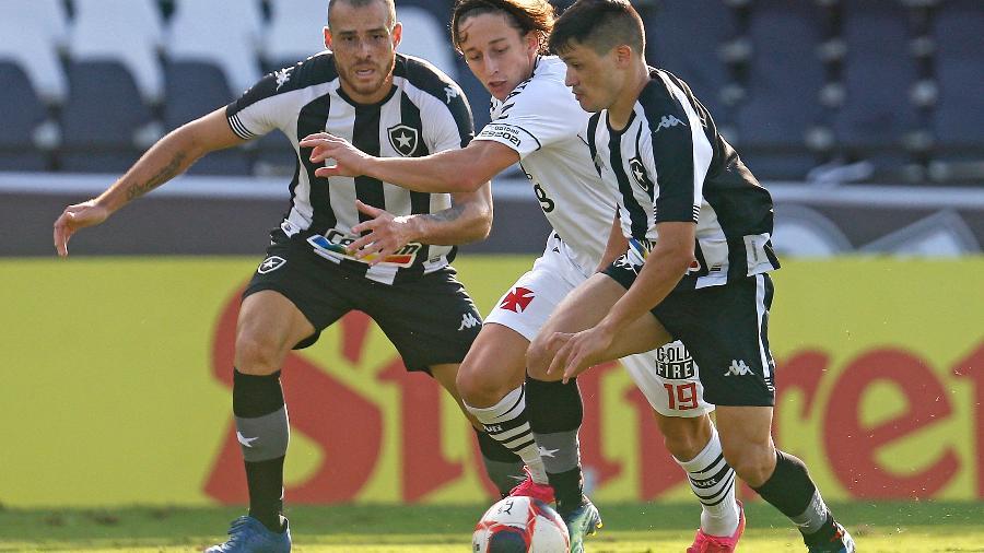 Vasco e Botafogo se enfrentaram pela final da Taça Rio - Vítor Silva/ BFR