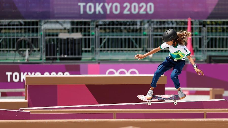Rayssa Leal treina em Tóquio para a estreia do skate nas Olimpíadas - Ezra Shaw/Getty Images