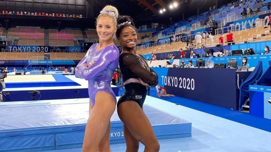 MyKayla Skinner dedica participação em final olímpica a Simone Biles - Reprodução/Instagram