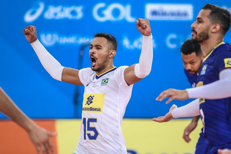 Maique, de 24 anos, é a aposta da nova geração para a seleção brasileira de vôlei