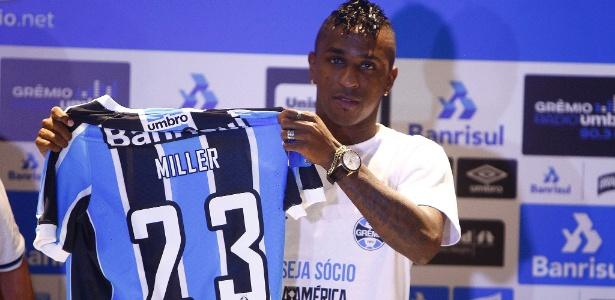 Bolaños pediu para ser chamado de Miller e usará número 23 na camisa