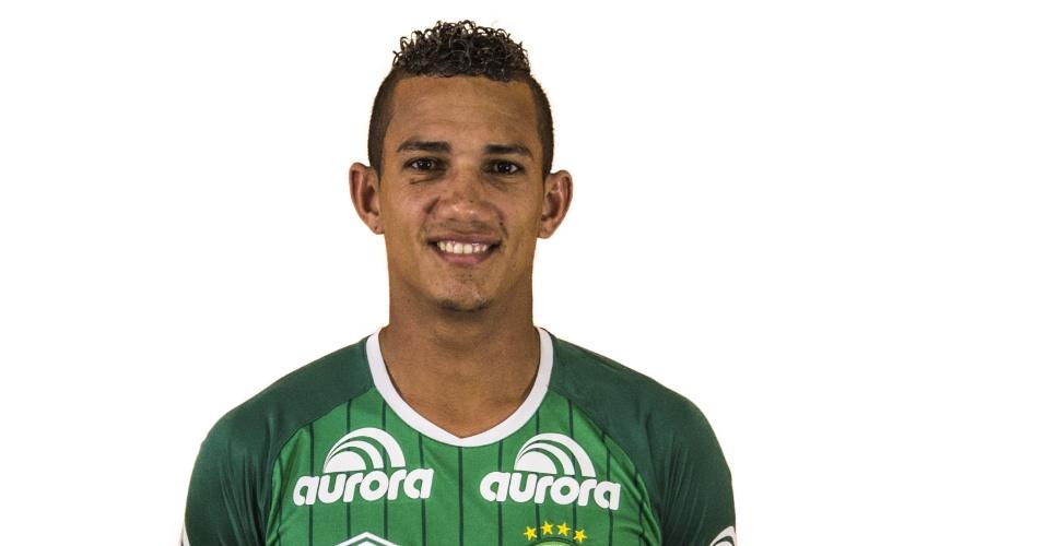 Lucas Gomes, atacante da Chapecoense
