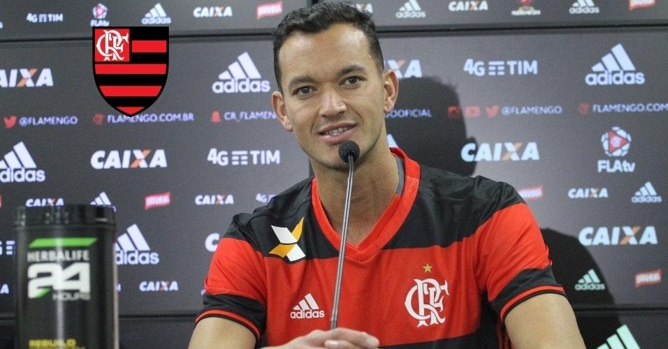 Montagem - Réver (zagueiro) - Do Internacional para o Flamengo