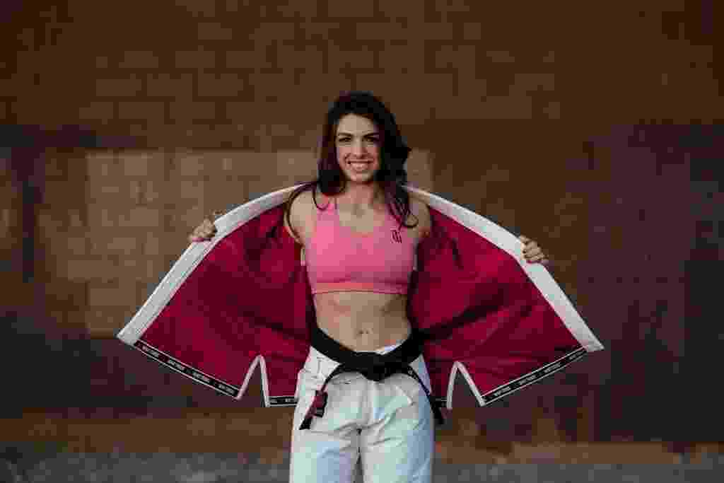 Mackenzie Dern, estrela de 23 anos do jiu-jitsu, estreará no MMA nesta sexta-feira (22) - Divulgação/War Tribo