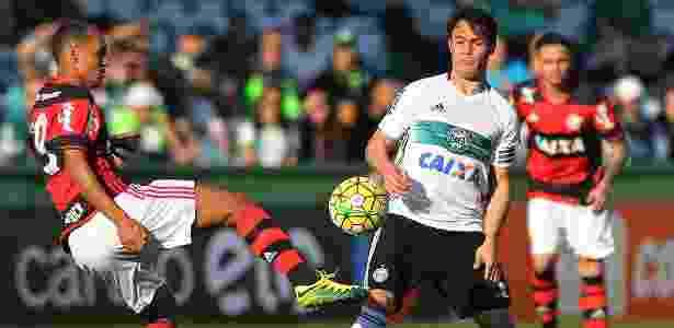 Kleber Gladiador soma 21 gols e é o artilheiro do Coritiba na temporada - Giuliano Gomes/PR Press