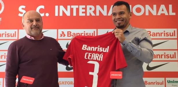 Ceará recebeu a camisa 3 na volta ao Inter. Contrato vai até o fim de 2017