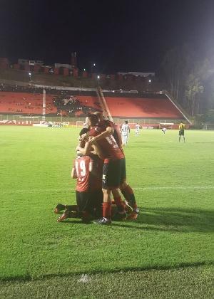 André Lima deixou sua marca no Barradão