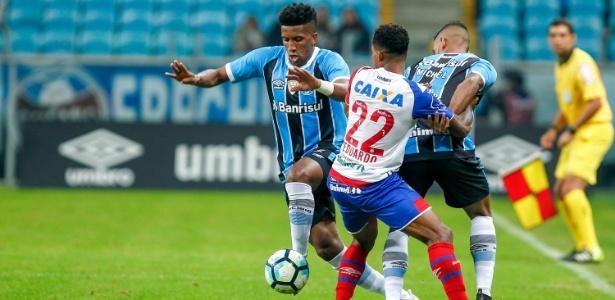 O lateral esquerdo Bruno Cortez acredita na qualidade do elenco do Grêmio