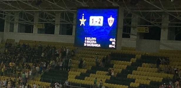 Fora de casa, o Qarabag venceu o Sheriff Tiraspol por 2 a 1