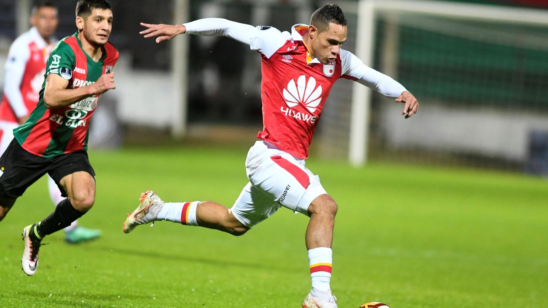 Anderson Plata, atacante do Santa Fe, é contratado pelo Atlético-PR
