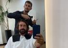 """Pirlo indica que cortará cabelo, e fãs imploram: """"Pelo bem do futebol, não"""" - reprodução/Twitter"""