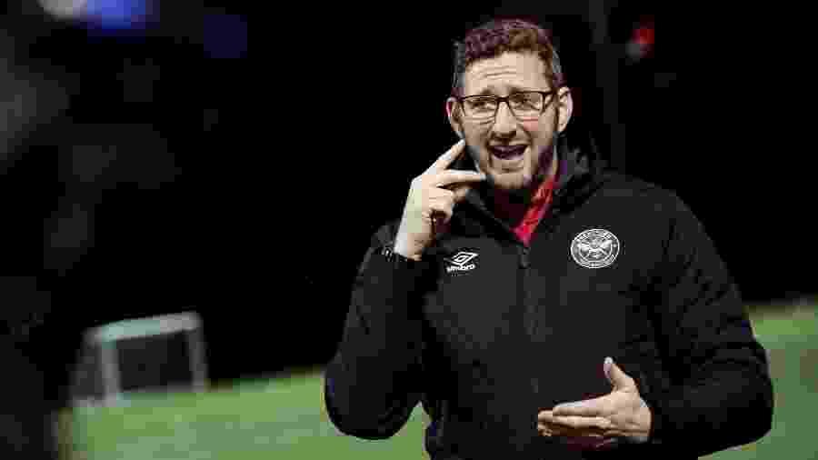 Ben Lampert, técnico do Brentford FC Community Sports Trust - Isabel Infantes/AFP