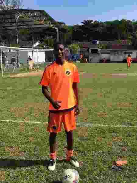 Patrick de Paula em seus tempos de Cara Virada, no futebol amador do Rio de Janeiro - Arquivo Pessoal - Arquivo Pessoal