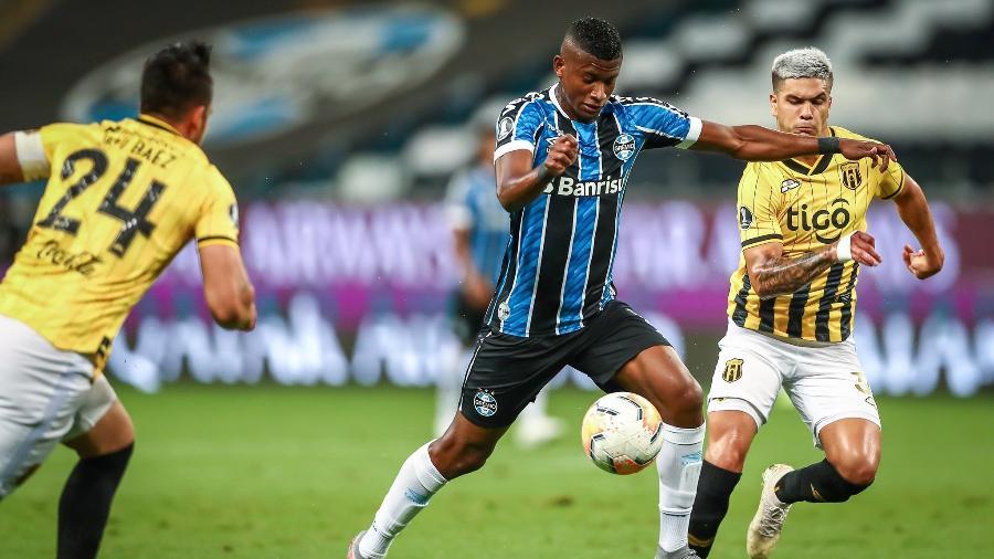 Empréstimo de Orejuela ao Grêmio terminou em dezembro de 2020 e jogador está lesionado - Lucas Uebel/Grêmio