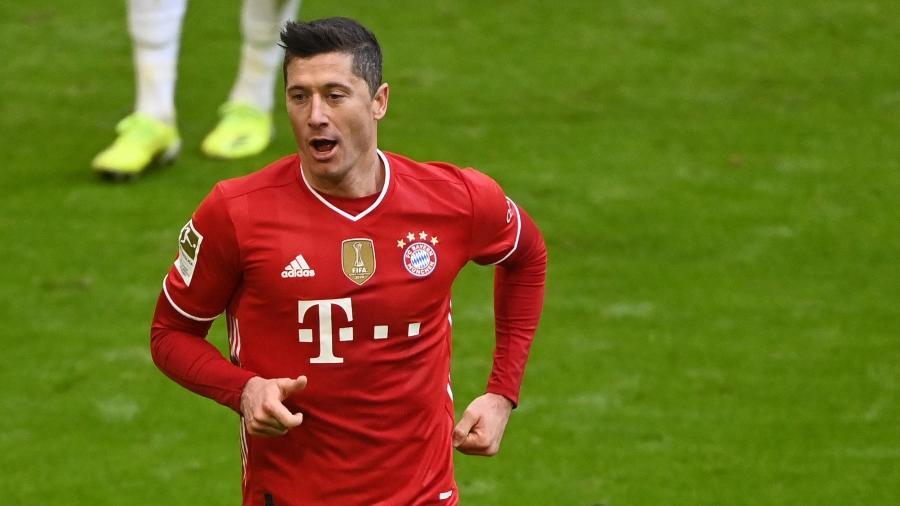 Lewandowski ainda tem contrato com Bayern até 2023 -  Matthias Balk / POOL / AFP