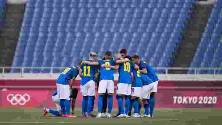Jogadores - Lucas Figueiredo/CBF - Lucas Figueiredo/CBF