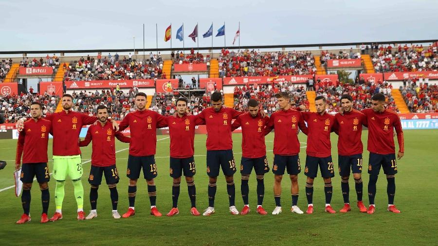 Seleção espanhola corre sério risco de ficar no 2º lugar do seu grupo das Eliminatórias para a Copa do Mundo - Pablo Garcia/RFEF