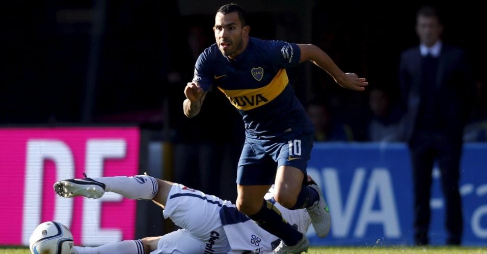 Tevez chegou ao Boca nesta semana e já fez sua reestreia com a camisa do clube