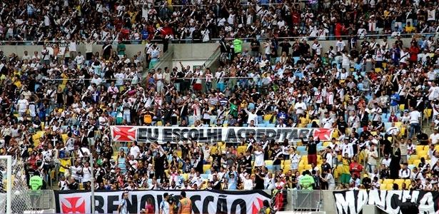 Torcida do Vasco está confiante e lotará o Maracanã neste sábado
